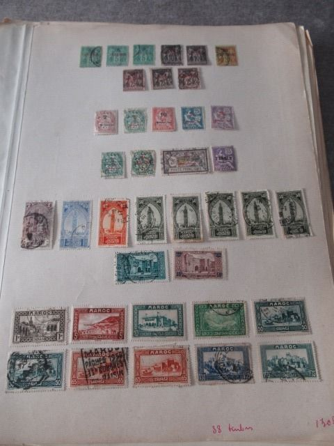 Former French colonies - Advanced collection of stamps