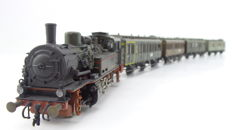 Roco H0 - 43025 - Train set - T12 steam clock with 4 couperijtuigen - KPEV