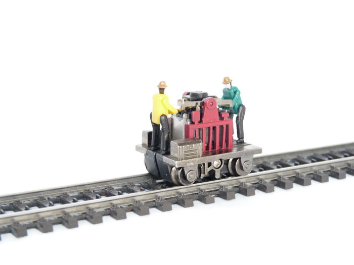 Bachmann H0 - 46202 - Motorized hand cart - Gandy Dancer