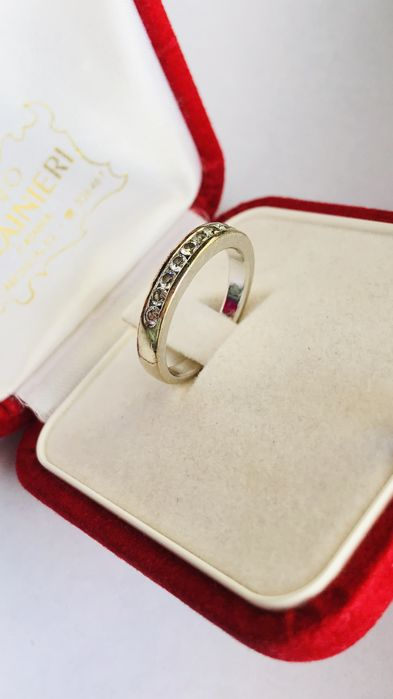 18 kt. Gold - Ring - Diamond