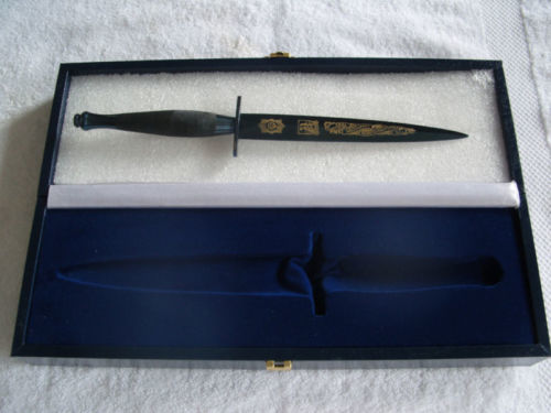Verenigd Koninkrijk - Pooley Sword - Falklands War 1982 Commemorative Dagger - Fairbairn Sykes - Dolk