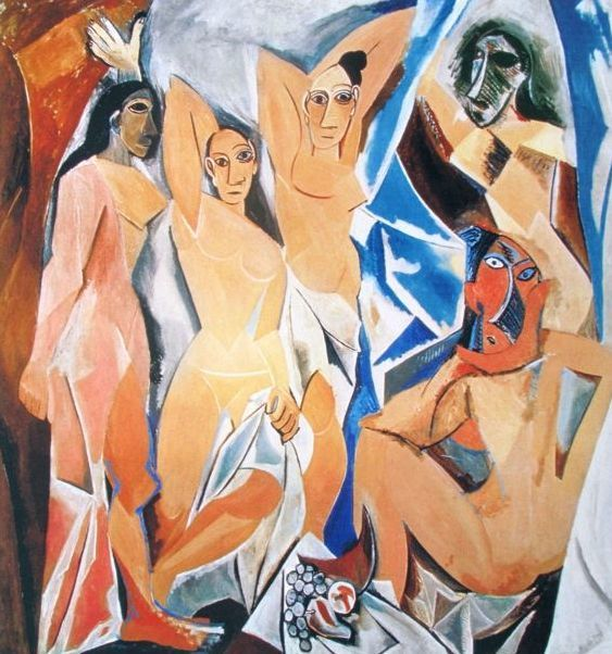 Pablo Picasso ( after ) - Les Demoiselles d'Avignon ( Woman of Avignon)