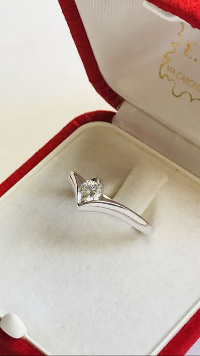 18 karaat - Ring - 0.26 ct