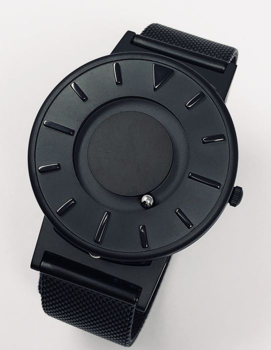 "Eone - Bradley Black with Mesh Strap Swiss Movement  - BR-BLK ""NO RESERVE PRICE"" - Unisex - 2011-present"