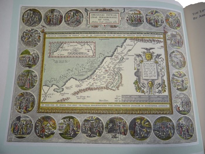 Israel; Universitas Booksellers of Jerusalem (Israel) - The Holy Land in ancient maps - 1958