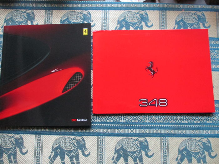 Brochures / catalogues - Ferrari - 348 & 360 - 1989-2000