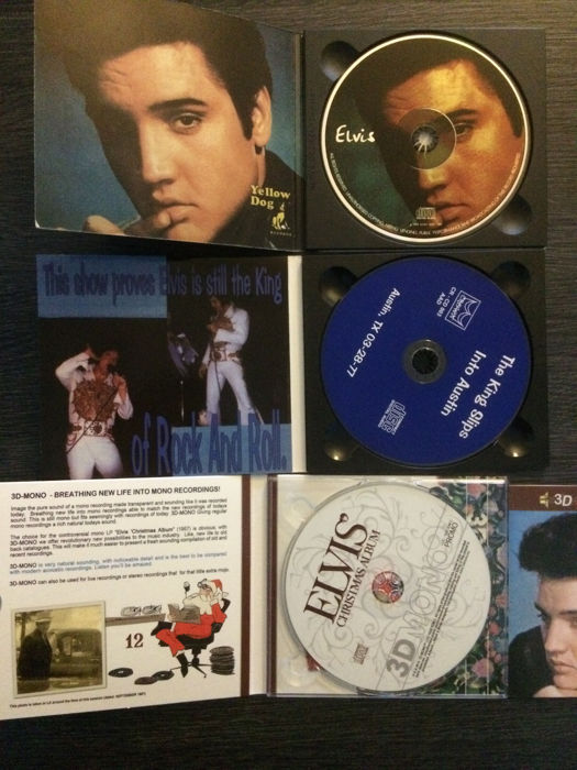 Elvis Presley - Lot of 6 Hard to Find cd's - Multiple titles - CD -  2014/2004 - Catawiki