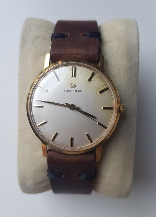 Certina 18K Solid Gold - Cal. 25-66 - Men - 1970s