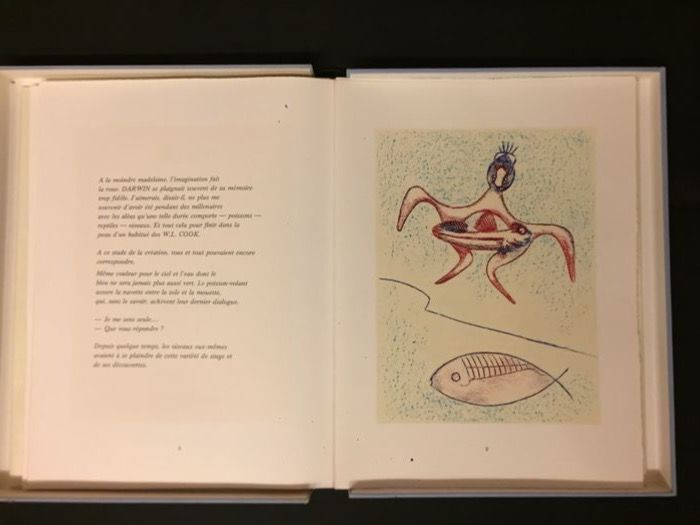 Signed: Max Ernst, Pierre Hereby  - Festin. With 12 original lithographs - 1974