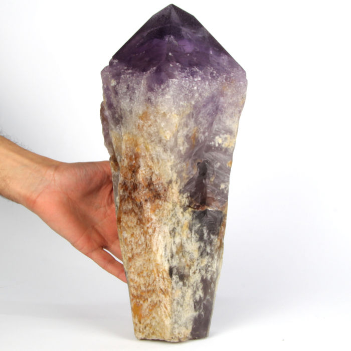 Amethyst (purple variety of quartz) Crystal - 35×17×13 cm - 8110 g