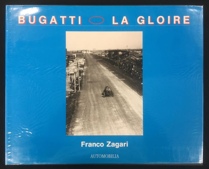Bücher - Bugatti La Gloire by Franco Zagari, limited edition 1126 of 1200 - 1993