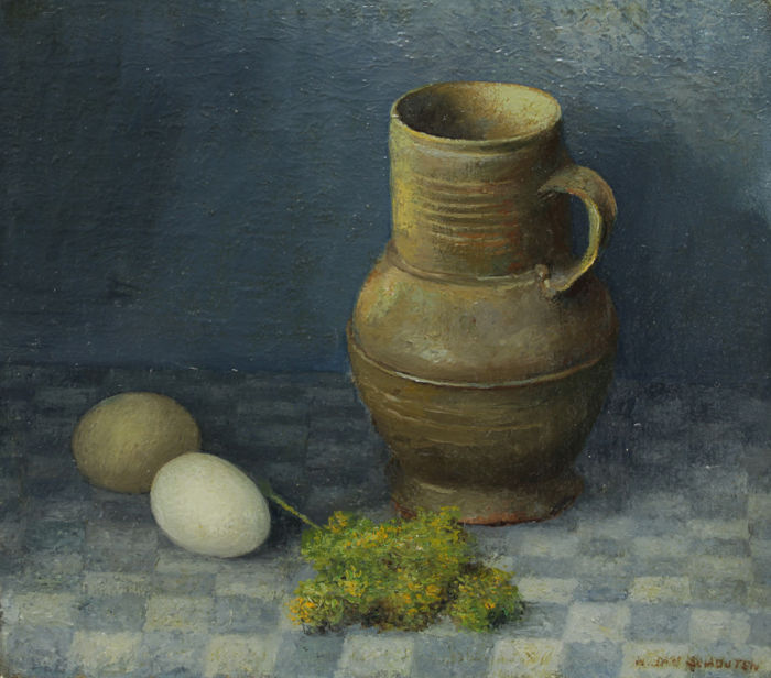 Jan Schouten (1906-1987) - Stilleven