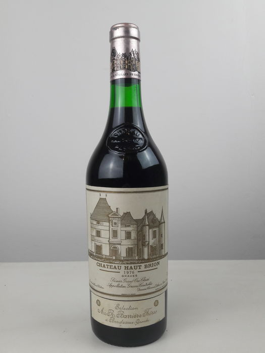 1976 Chateau Haut Brion - Pessac-Léognan 1er Grand Cru Classé - 1 Bottle (0.75L)