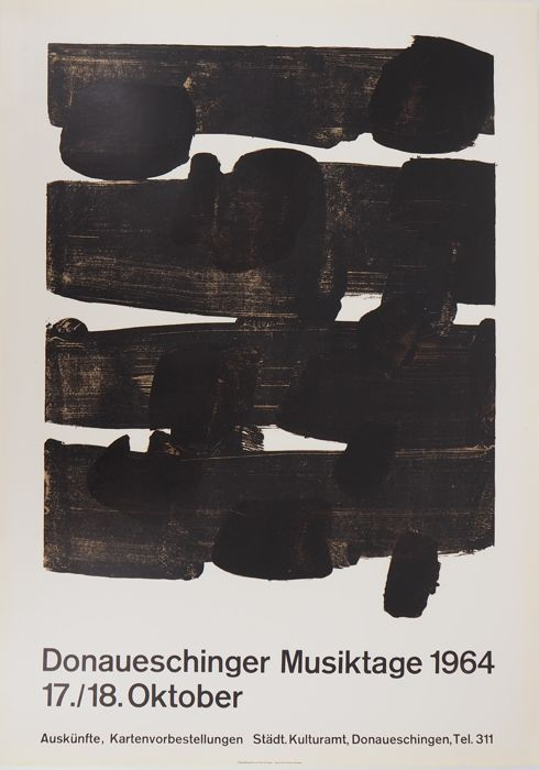 Pierre SOULAGES - Lithographie n°12