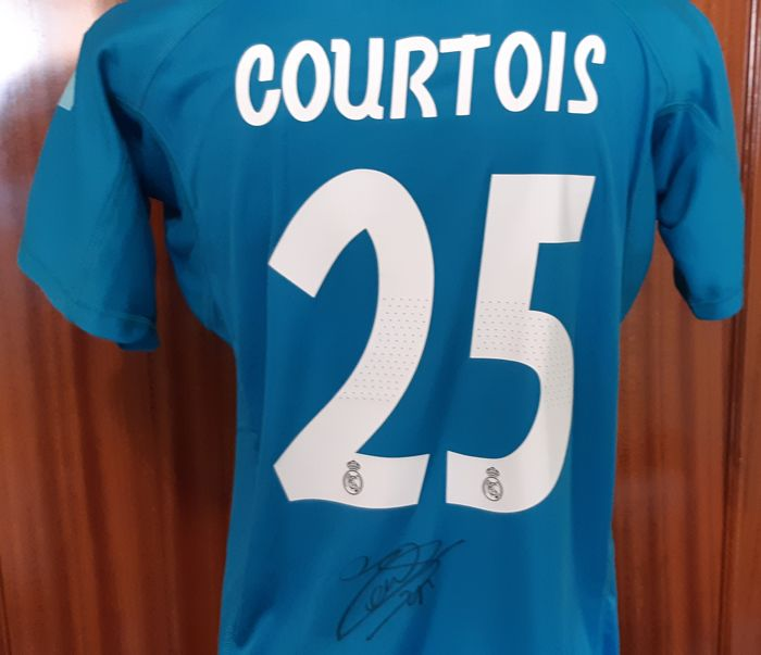 Real Madrid - Spaanse voetbal competitie - Thibaut Courtois  - Jersey(s)