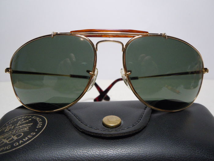 a76d7a8793 Ray-Ban - Outdoorsman W1079 Olympian Barcelona 1992 By B L USA