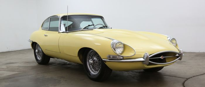 Jaguar - E-Type 4.2 - 1968