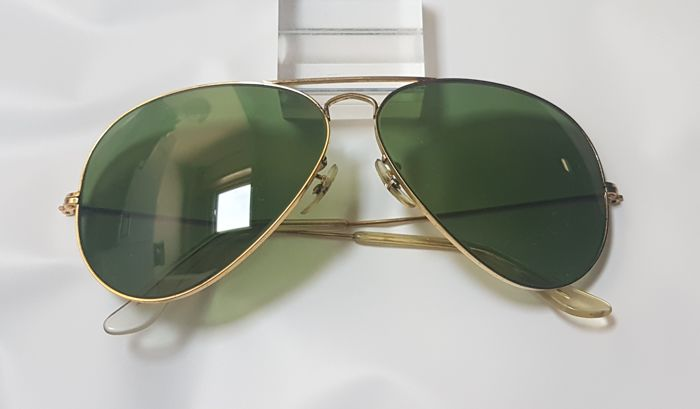 5a5d0a8f45 Bausch and Lomb Ray Ban USA - Classic Metal Aviator - Catawiki