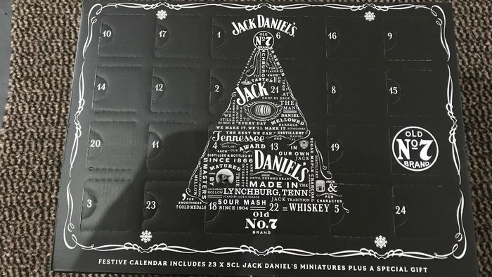 Jack Daniel's - Advent Calendar - 23 x 5cl + 'gift'
