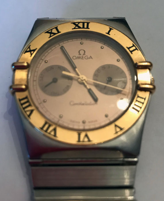 Omega - Constellation '86 + Day - Date - Unisex - 1980-1989