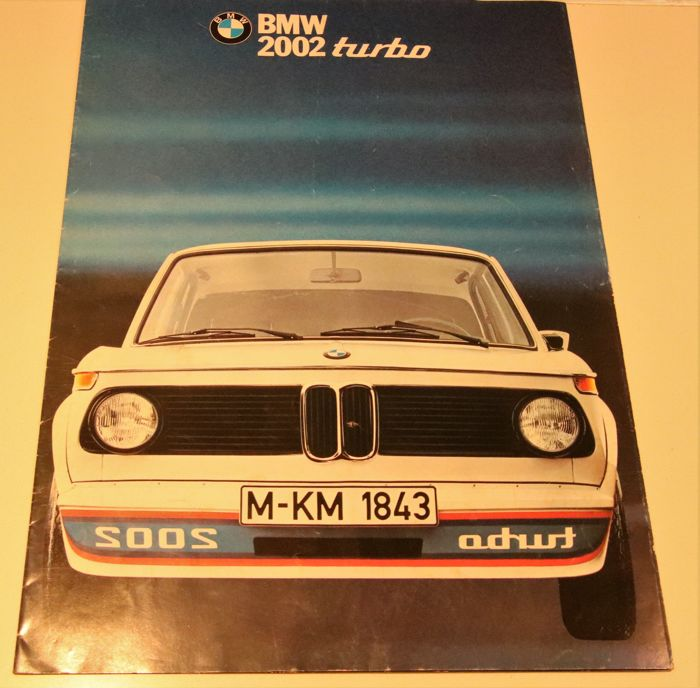 Brochures Catalogues Bmw 2002 Turbo 1973 1973 1 Items Catawiki