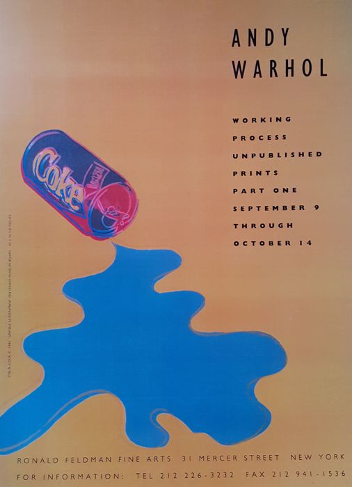Andy Warhol - Working Process, Unpublished Prints - 1997