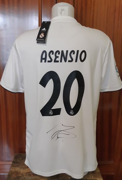free shipping 6e778 69ebc Real Madrid - Spanish Football League - Marco Asensio ...