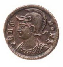Roman Empire - AE centenionalis, commemorative issue, time of Constantine I (AD 307-337). Nikomedia, c. AD 330-335.