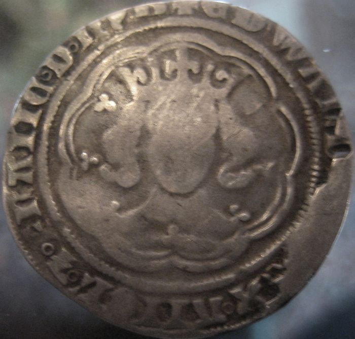 Great Britain - Groat Edward III 1327-1377 (Mint York)