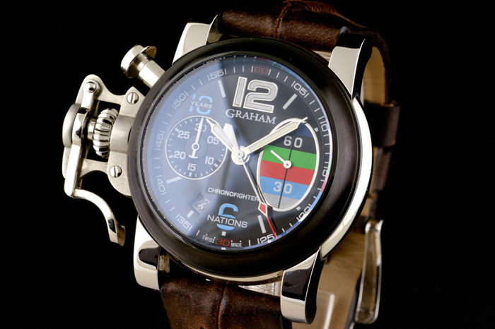 Graham - Chronofighter 10 Years 6 Nations Celebration Limited Edition! - Heren - 2000-2010