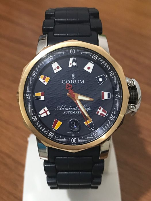 Corum - Admiral's Cup Trophy - Ref. 01.0004 - Men - Wristwatch