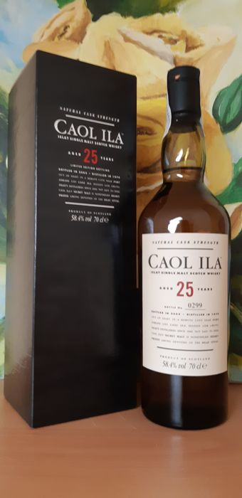 Caol Ila 1979 25 years old Original bottling - 70 cl