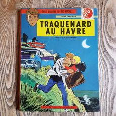 Ric Hochet T1 - Traquenard au Havre - C - First edition - (1963)