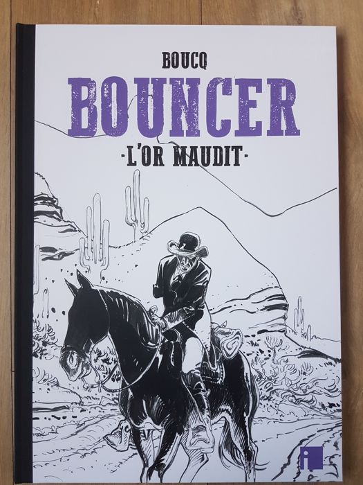 Bouncer T10 - L'Or maudit + ex-libris - C - TT - (2018)