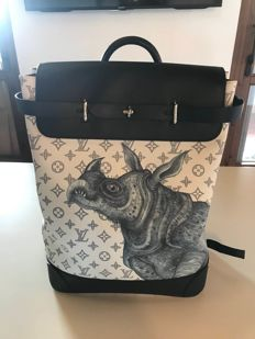 Louis Vuitton - Chapman Brothers Steamer Backpack Sac à dos 95cca9a491c