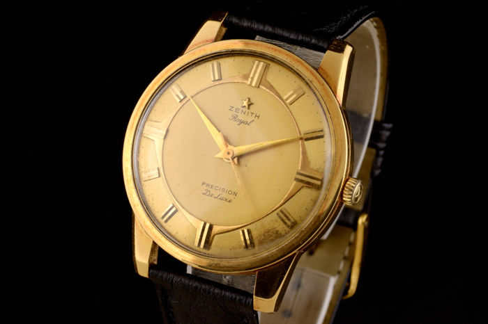 "Zenith - Royal Vintage 18k Gold Very Rare! - ""NO RESERVE PRICE"" - 21100089 - Homme - 1960-1969"