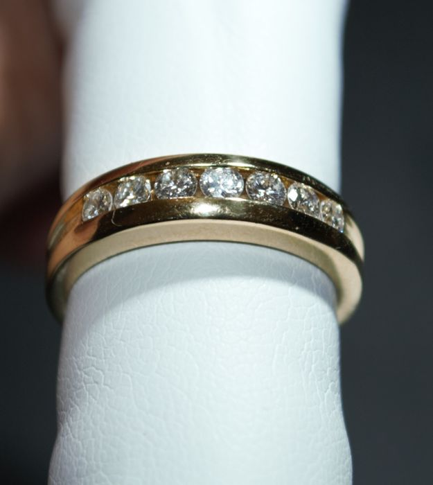 Damiani - 18 kt. Yellow gold - Ring Diamond - Diamond