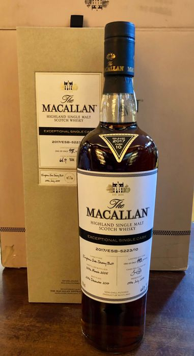 Macallan 2005 12 years old Exceptional single cask - 700ml