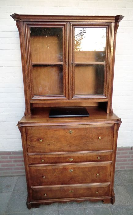 Cupboard (1) - Mahogany - Second half 19th century