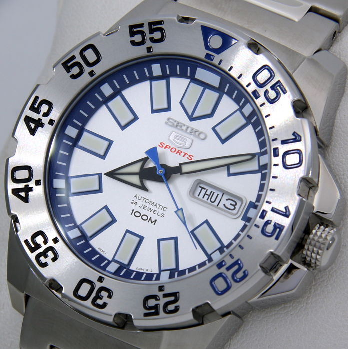 """Seiko - Automatic 24 Jewels """"Ice - Blue Dial"""" - Heren - 2018"""