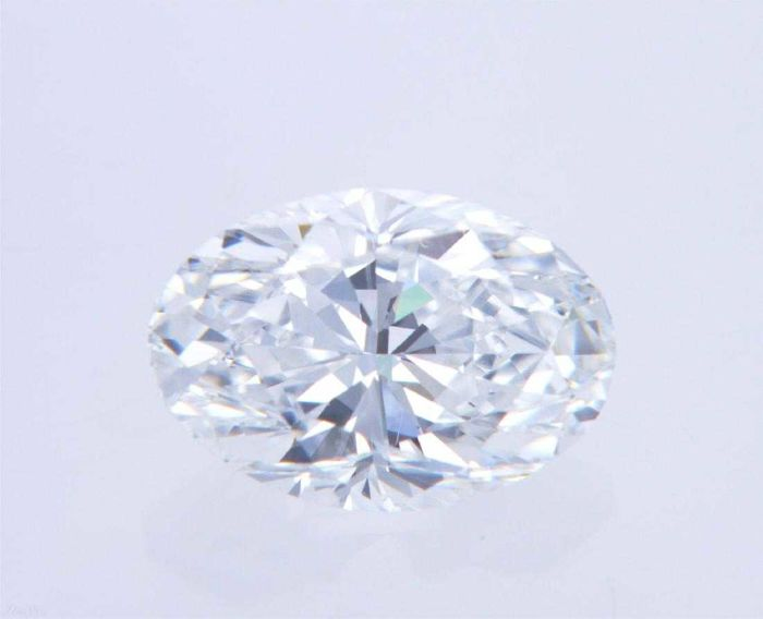1 pcs Diamanten - 1.00 ct - Oval - D (farblos) - VVS2