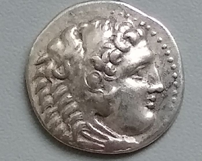 Greece (ancient) - Macedonia. AR Drachm, Alexander III (336-323 BC). Posthumously struck, 295-275 BC. Miletos mint (A41) - Silver