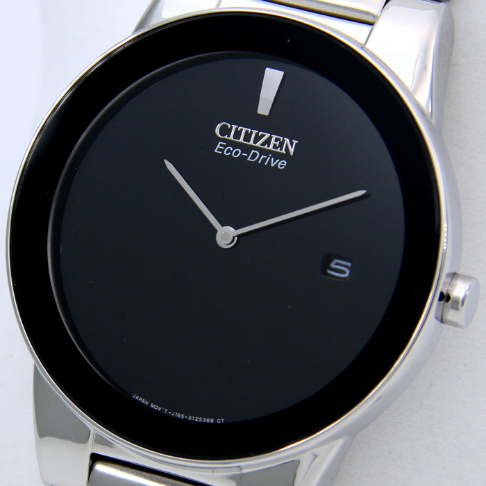 "Citizen - Eco Drive ""Black Face - Great Look"" - New - Heren - 2018"