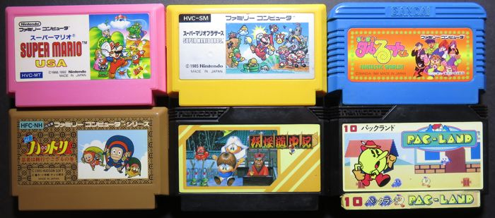 Mario Bros Mb 2 And More 6 Great Platform Games Of Which Catawiki