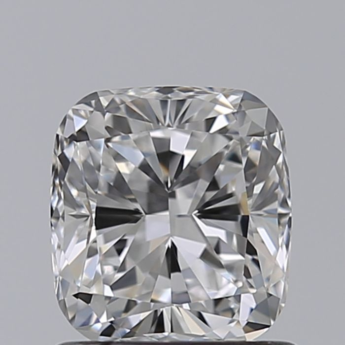 1 pcs Diamante - 1.01 ct - Cojín - D (incoloro) - IF (Inmaculado)