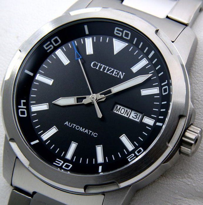 "Citizen - Mechanical Automatic ""Black Dial"" - ""NO RESERVE PRICE"" - Men - 2011-present"