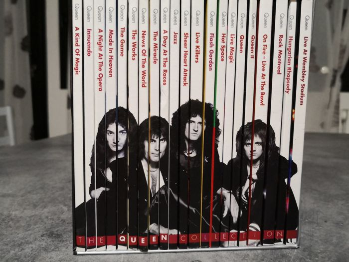 Queen - The Queen Collection - Gli Speciali Musicali di Sorrisi - Multiple titles - CD - 2015/2015