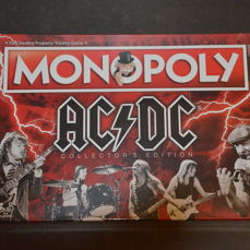 AC/DC - Monopoly Collector's Edition - Hasbro Boardgame - 2010/2019
