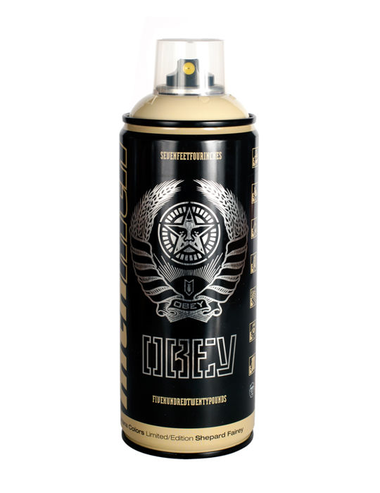 Shepard Fairey (OBEY) - Montana Spray Paint Can