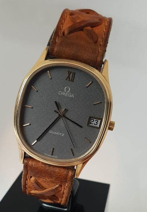 "Omega - Quartz 9K gold case - ""NO RESERVE PRICE""   - 1332 - 中性 - 1970-1979"